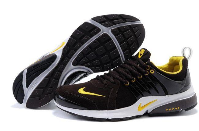 Buying Nike Air Presto Anti Fur Mens Sneakers Black Brown Yellow Online  $44.99 http:/