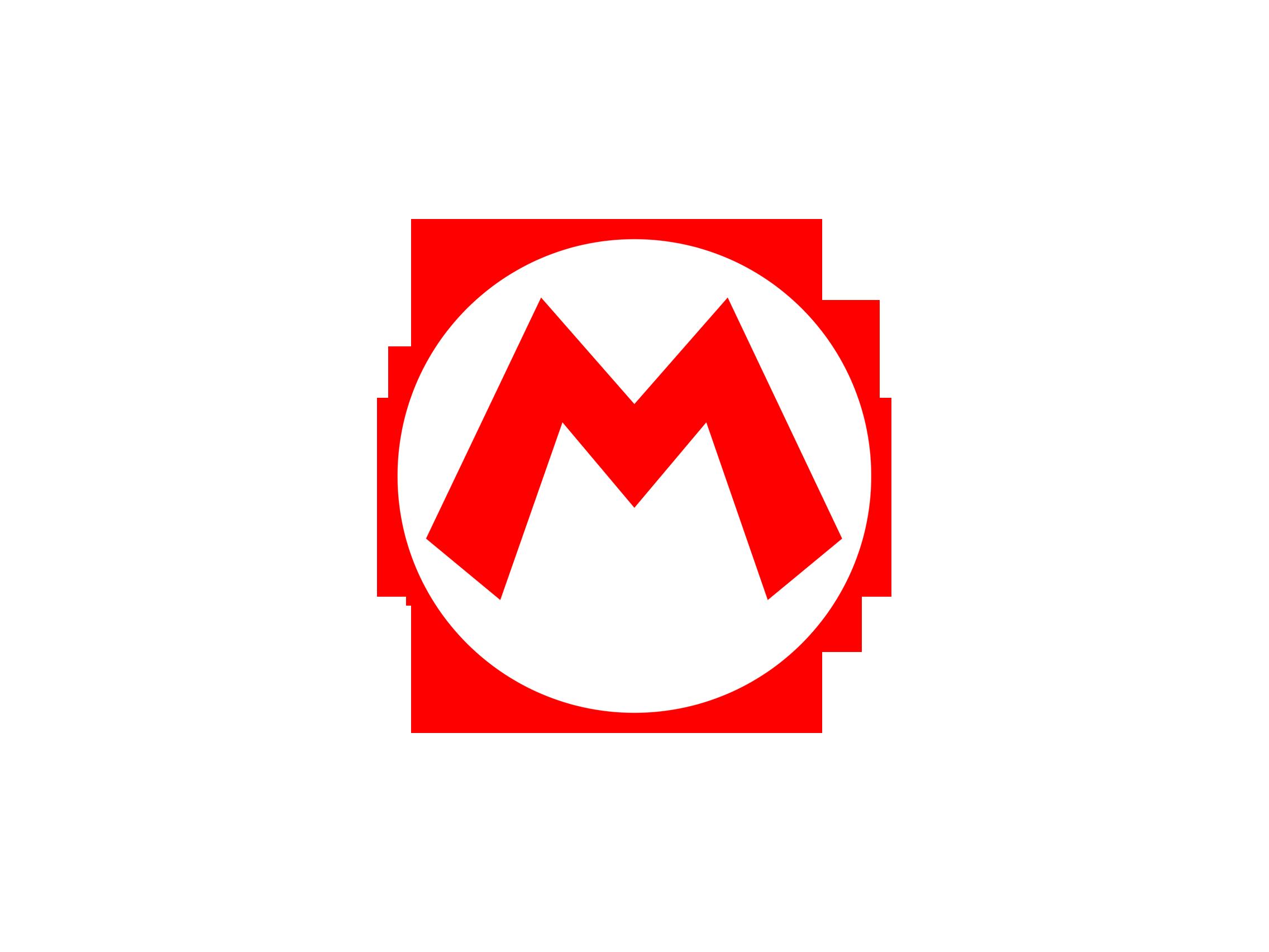 Mario logo Mario bros birthday, Super mario party, Mario