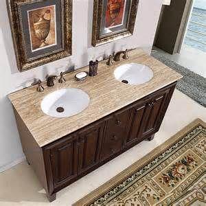 54 Inch Bathroom Vanity Double Sink Bing Images Brown Bathroom