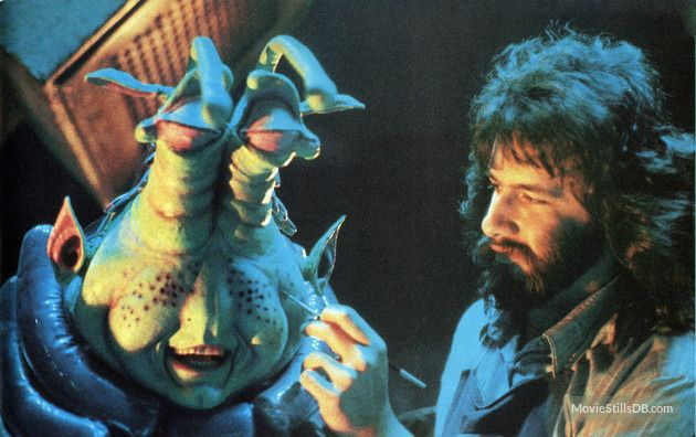 rob bottin paints wak during production of explorers. Black Bedroom Furniture Sets. Home Design Ideas