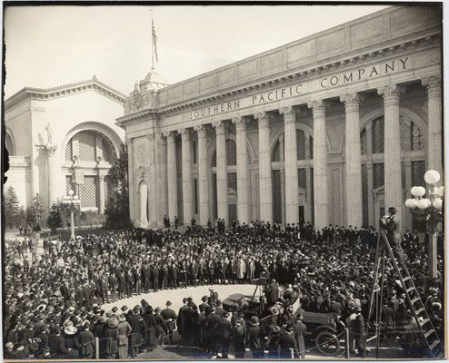 dedication of southern pacific company building at the panama pacific international exposition 1915 san francisco calif