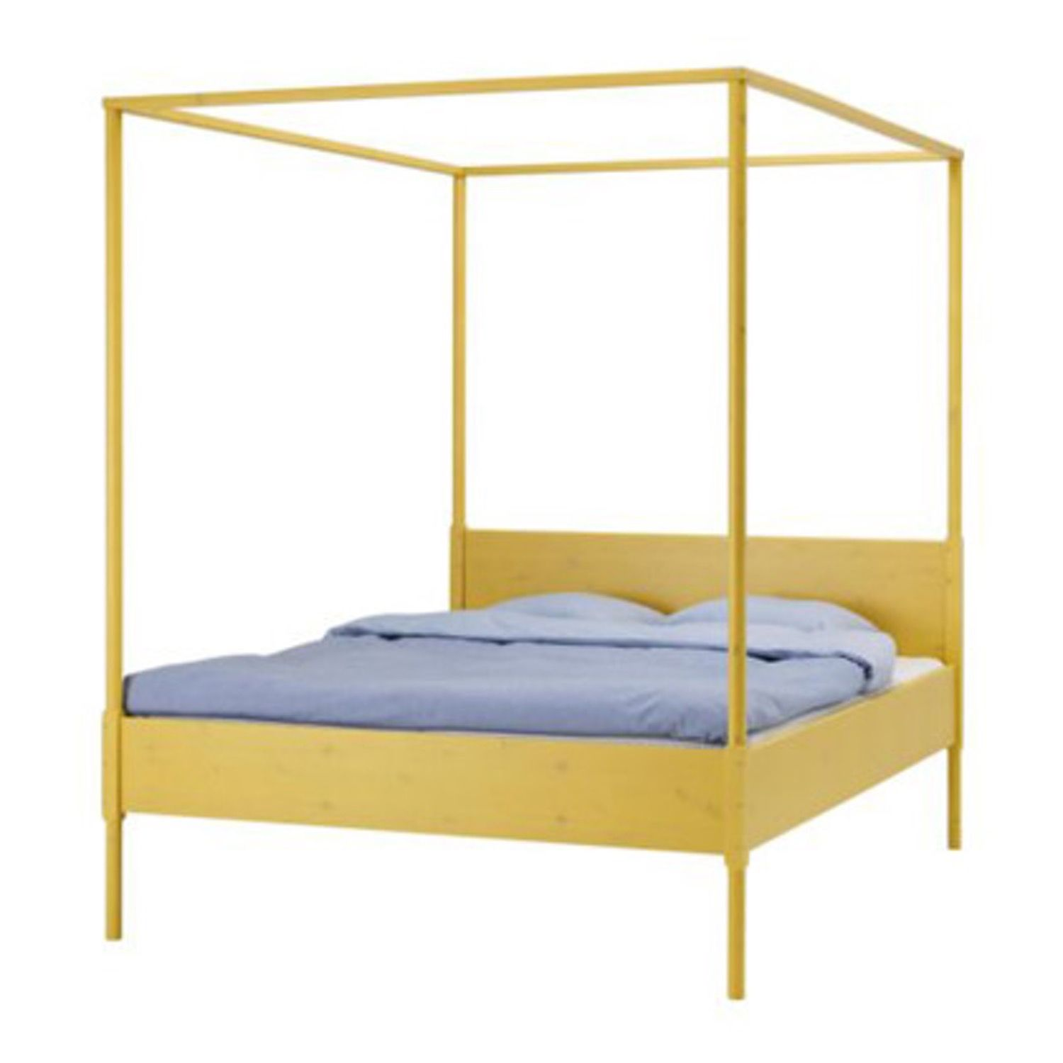 Hemnes Four-poster Bed Frame at Ikea | HEMNES and Bed frames