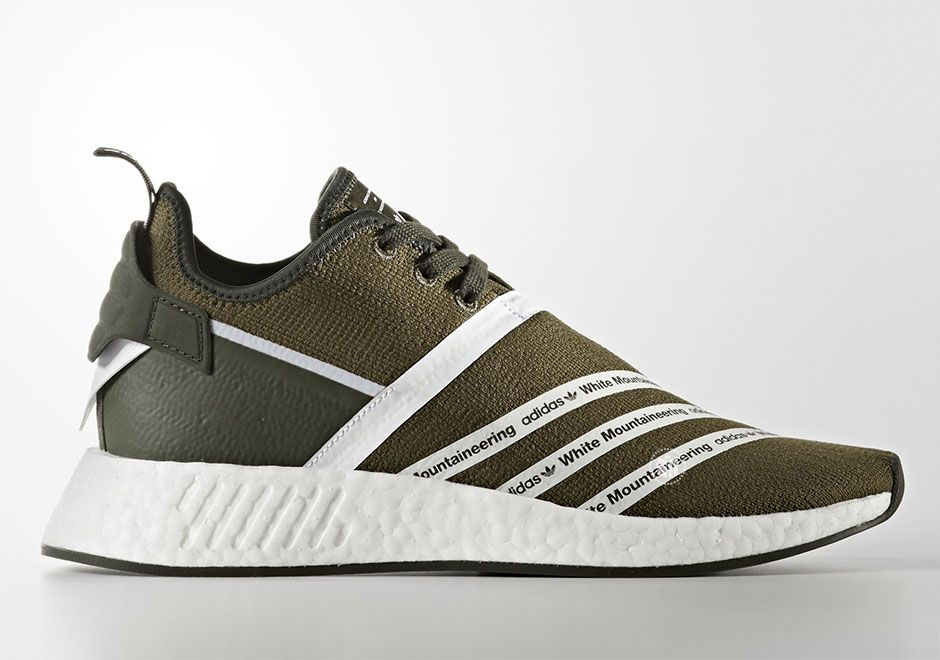 a309a7cd4061e Japanese menswear line White Mountaineering has another adidas Originals  capsule coming our way very soon as two stylish colorways of the adidas NMD  R2 are ...