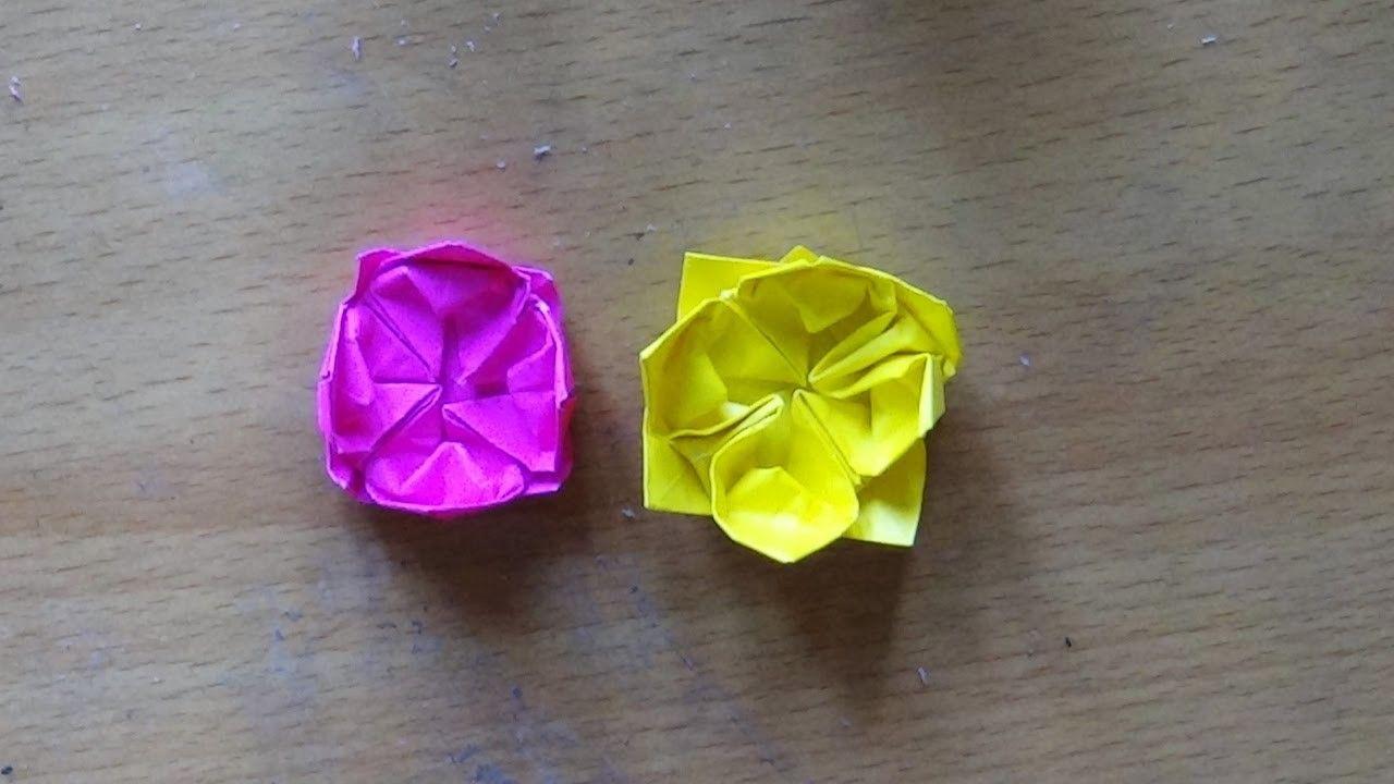 Paper Craft Art How To Make An Origami Lotus Craft Art Lotus