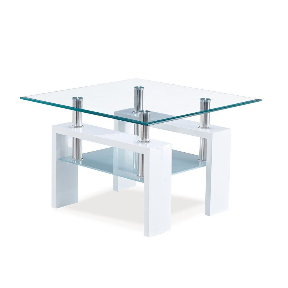 Global Furniture T648et Wh End Table In Glossy White Global Furniture Global Furniture Usa White End Tables [ jpg ]