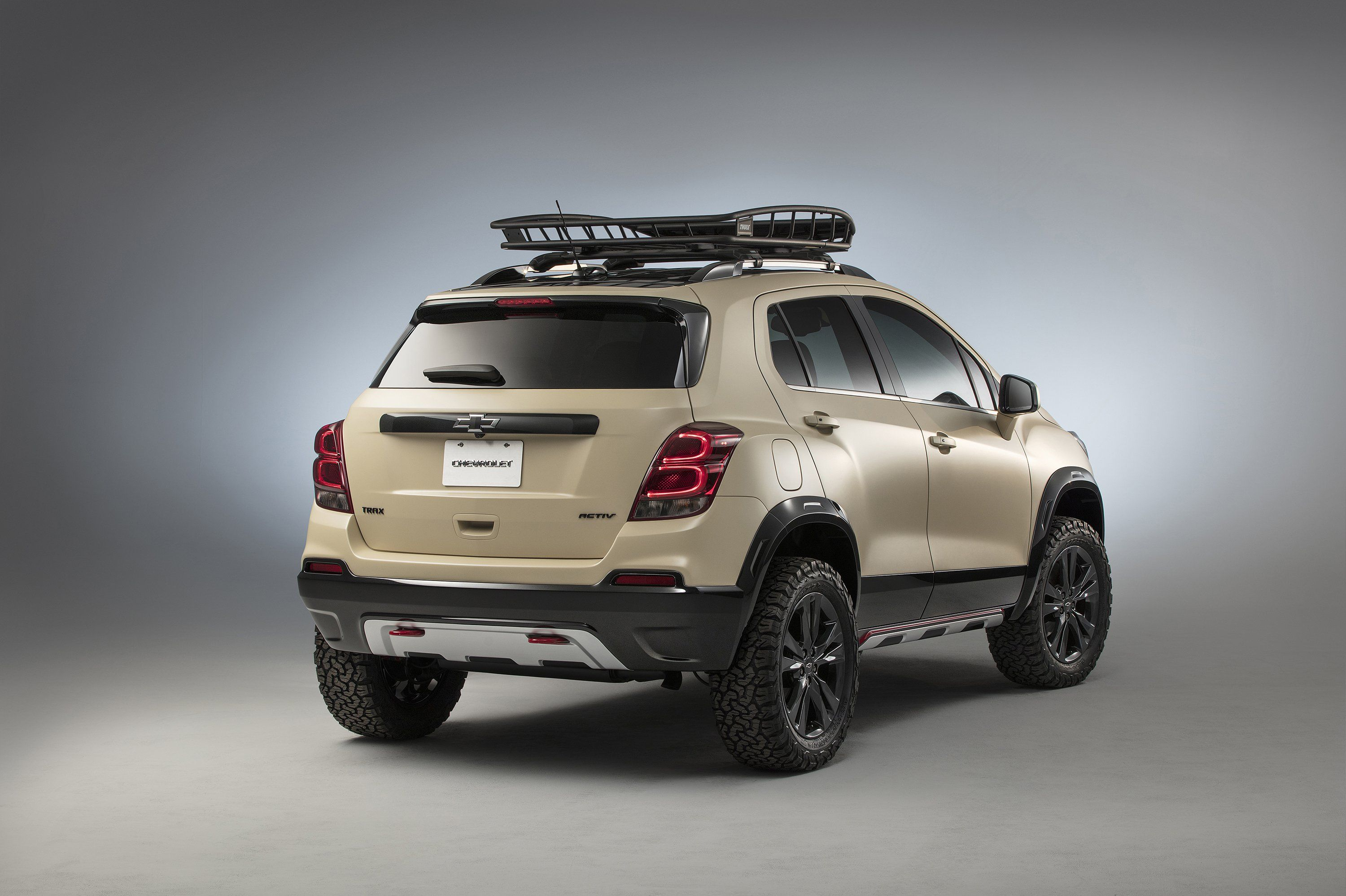 Chevy Trax Activ Concept Beefed Up For Off Roading Dzhip Koleso