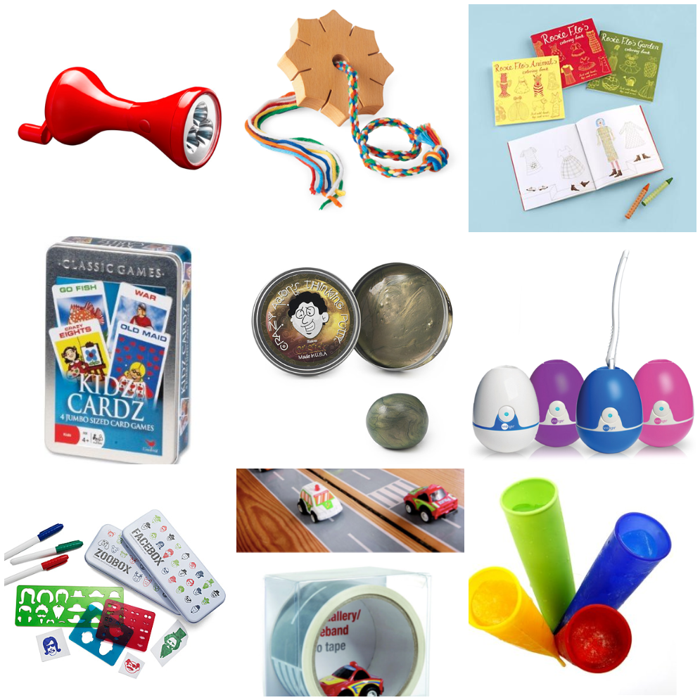 Cool Stocking Stuffers love the toothbrush sanitizer and stencil makers, also silly puddy