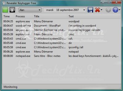 Download Free Revealer Keylogger Free Edition ~ TechMix | hacking