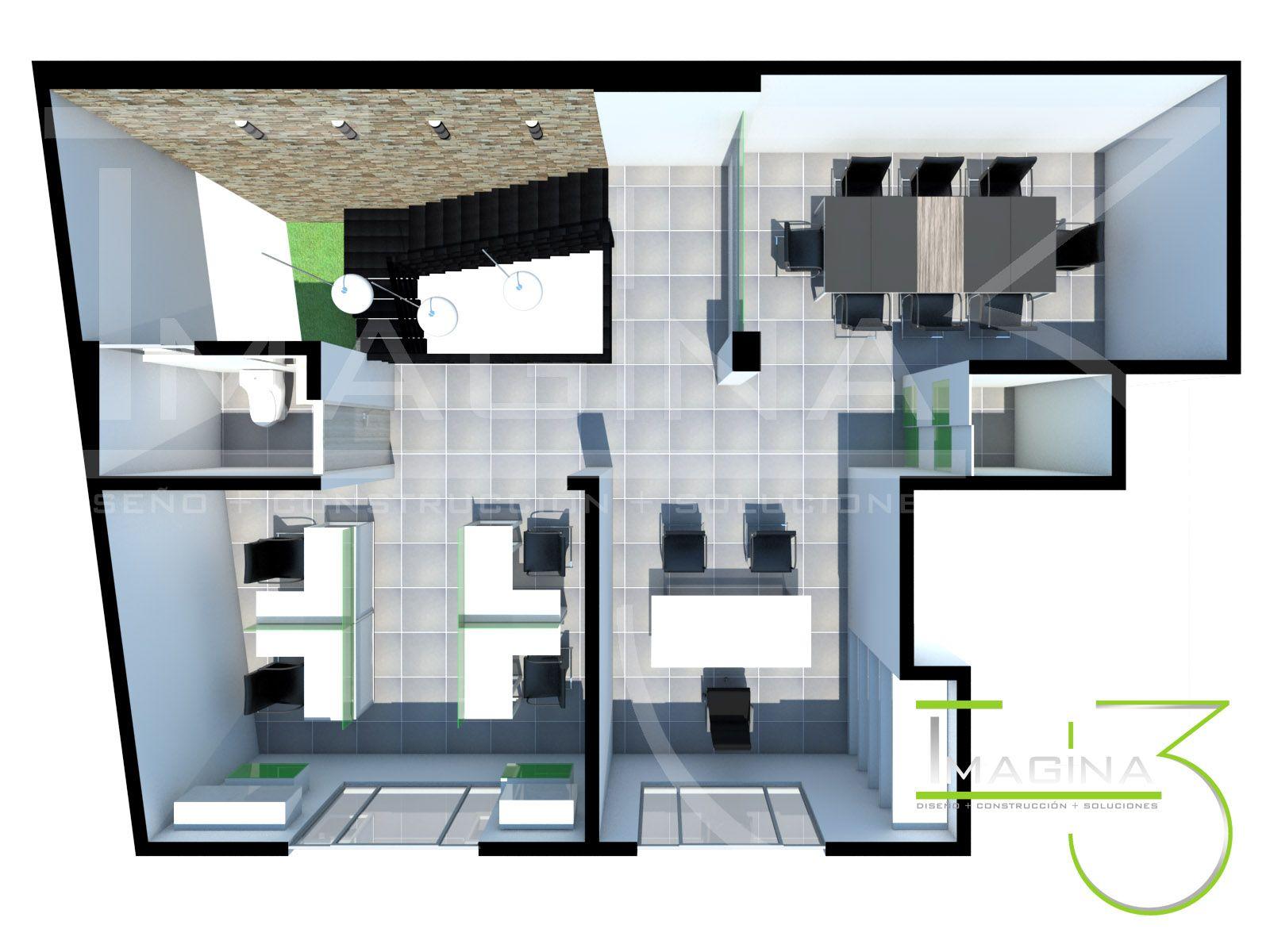 Diseño oficinas, distribución de espacios. Animación 3d gerencia@imagina3.co / + 57 321 324 7617 / +57 (8) 2 76 21 23 / https://www.facebook.com/imagina3.arquitecturayconstruccion