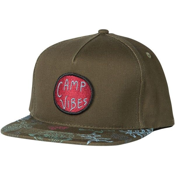 1bac6441bd5 Poler CV Bro Snapback Hat featuring polyvore