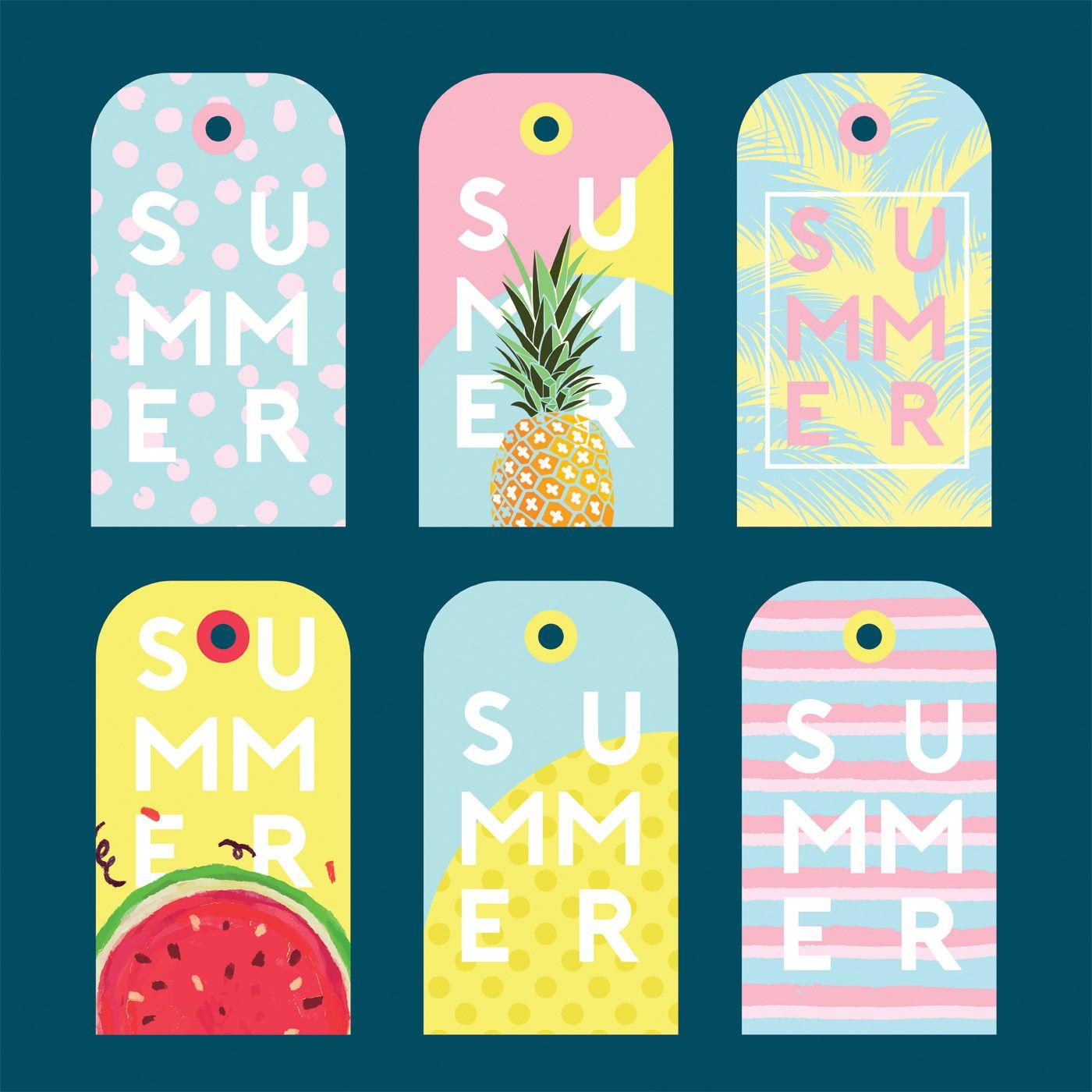 Download Summer Gift Tag Vector Pack Vector Art. Choose