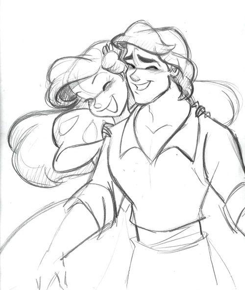 how to draw disney little mermaid ariel