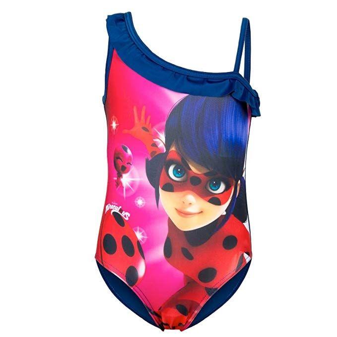 taglia 40 2810b dc865 costume mare bambina ladybug nel 2019 costume #mare #bambina ...