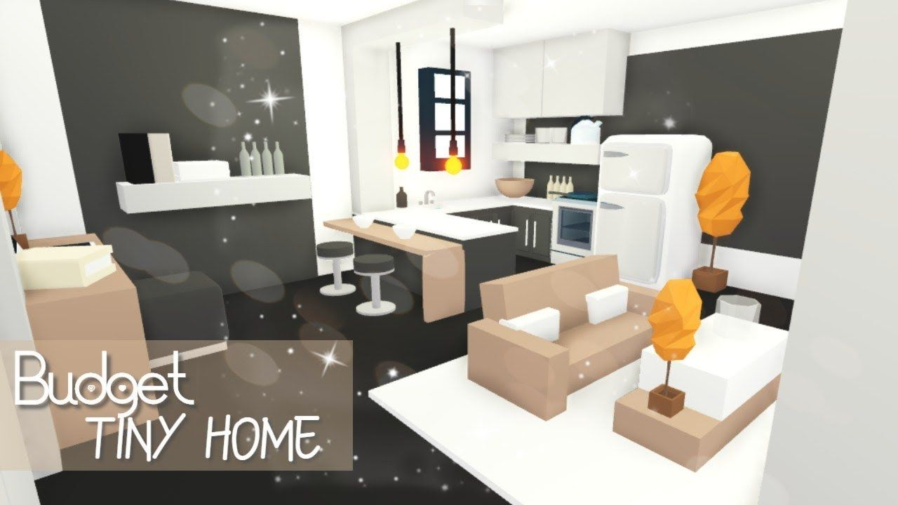 Budget Tiny Home Roblox Adopt Me Youtube Home Roblox Home Tiny House Layout