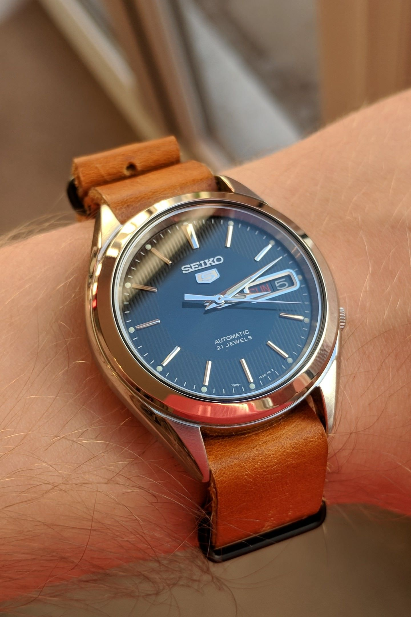 Seiko Saw A New Snkl23 On Ebay For A Good Price No Hesitation In