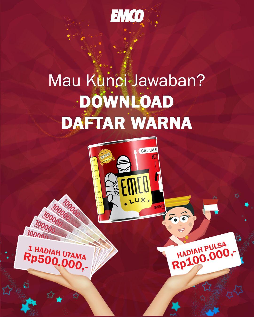 Kuis Emco Datang Lagi Hadiahnya Uang Tunai Rp500 000 Untuk Pemenang Utama Dan Rp100 000 Untuk 10 Orang Pemenang Hiburan Pop Tarts Snack Recipes Snacks