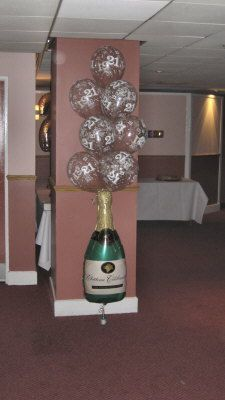 Cake Decor In Cumbernauld : IMG_0254 50th party ideas Pinterest 50th party and Balloon columns