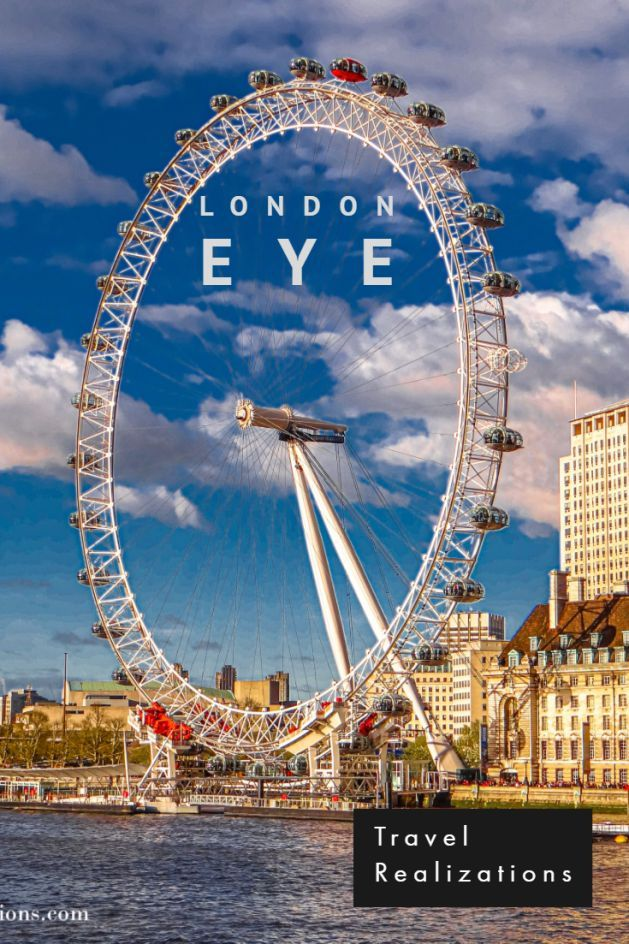 The London Eye, hitherto, the tallest in Europe, in simple terms is a giant observation wheel, offers a panoramic view of the city. #LondonEye #London #TravelLondon #TravelInspiration #Travelblog