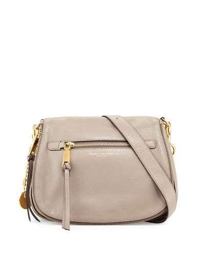 8ca57b74c8b7 V2YGB Marc Jacobs Recruit Leather Saddle Bag