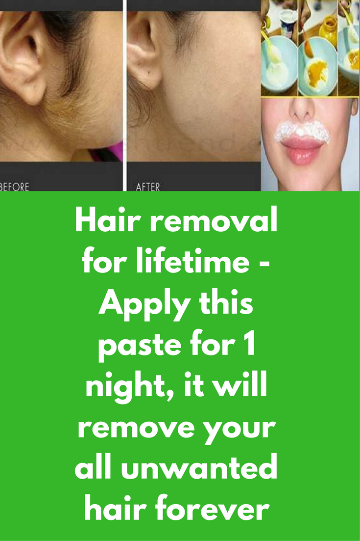 Apply This Paste To Remove Your All Unwanted Hair Unwanted Hair