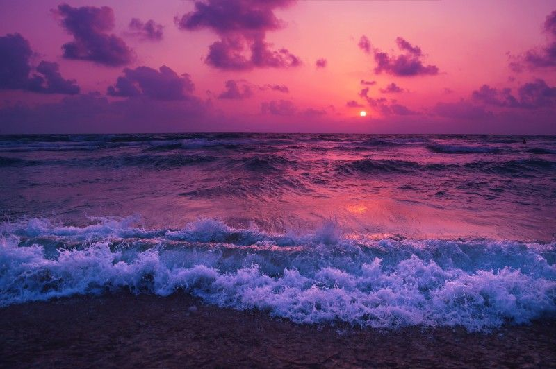 30 Beautiful Ocean Wallpapers And Beach Backgrounds Tablet Desktop And Smartphone Inspirationfeed Sunset Wallpaper Waves Wallpaper Ocean Wallpaper