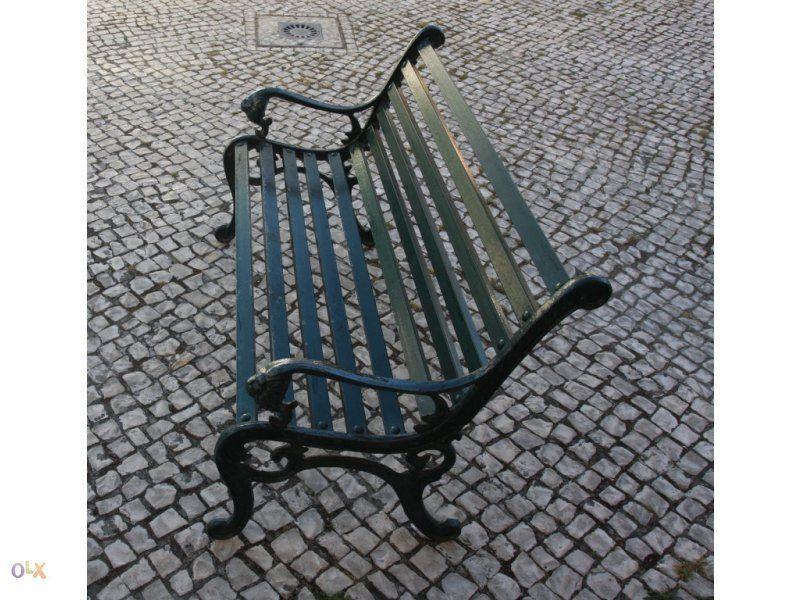 Banco De Jardim Em Ferro Com Imagens Banco De Jardim Bancada