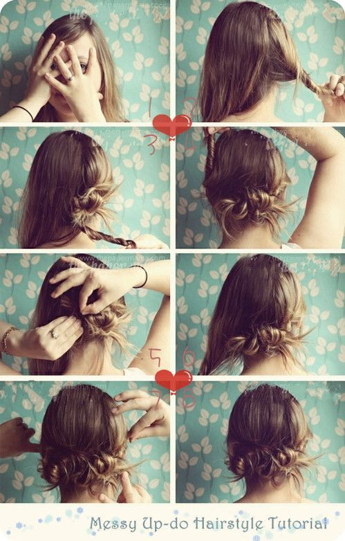 5 Minute Hairstyle Step By Guide