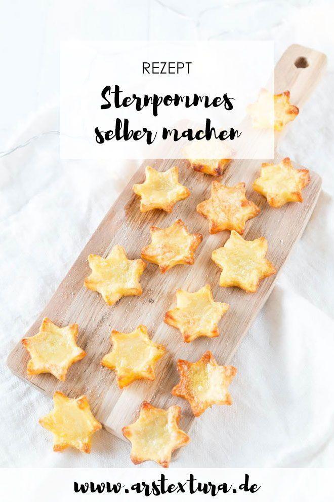 *8* Winterlicher Burger mit Stern Pommes #pommesselbermachenofen