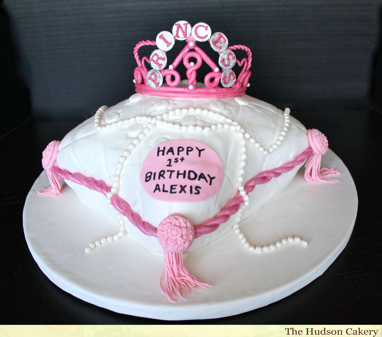 Birthday Cakes 1st Birthday Cake The Hudson Cakery Princess