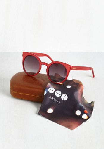 2ac8cb251594 Haute and Bold Sunglasses in Crimson