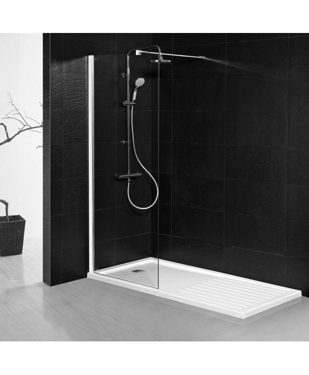 Aqua-I8 Wetroom Screen Panel 1000mm x 1900mm High | Shower screen ...