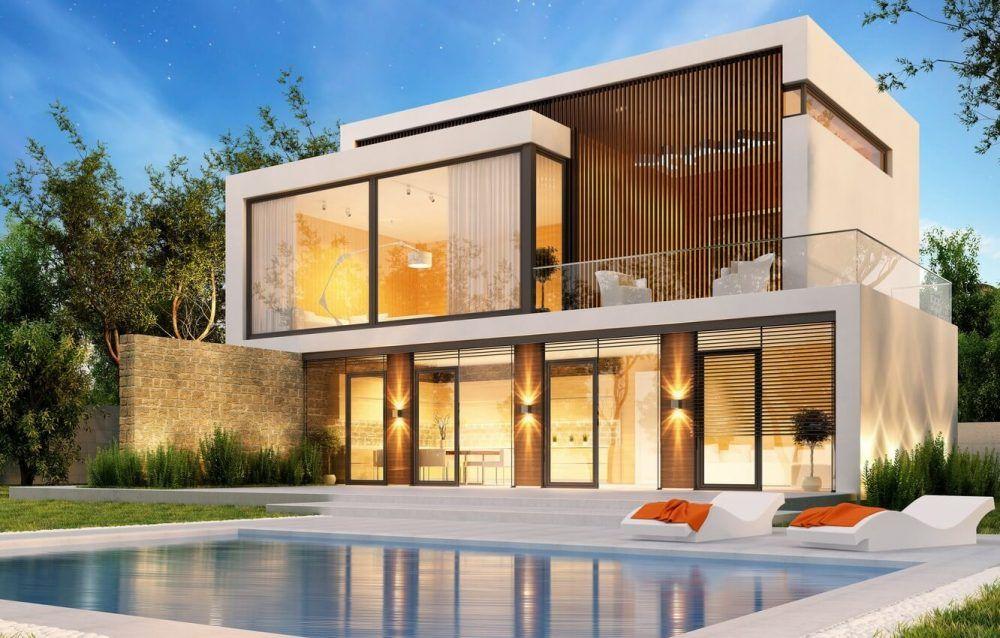 Modern House Design Around The World Check It Out Modern House Design Dream House Exterior Modern Farmhouse Exterior
