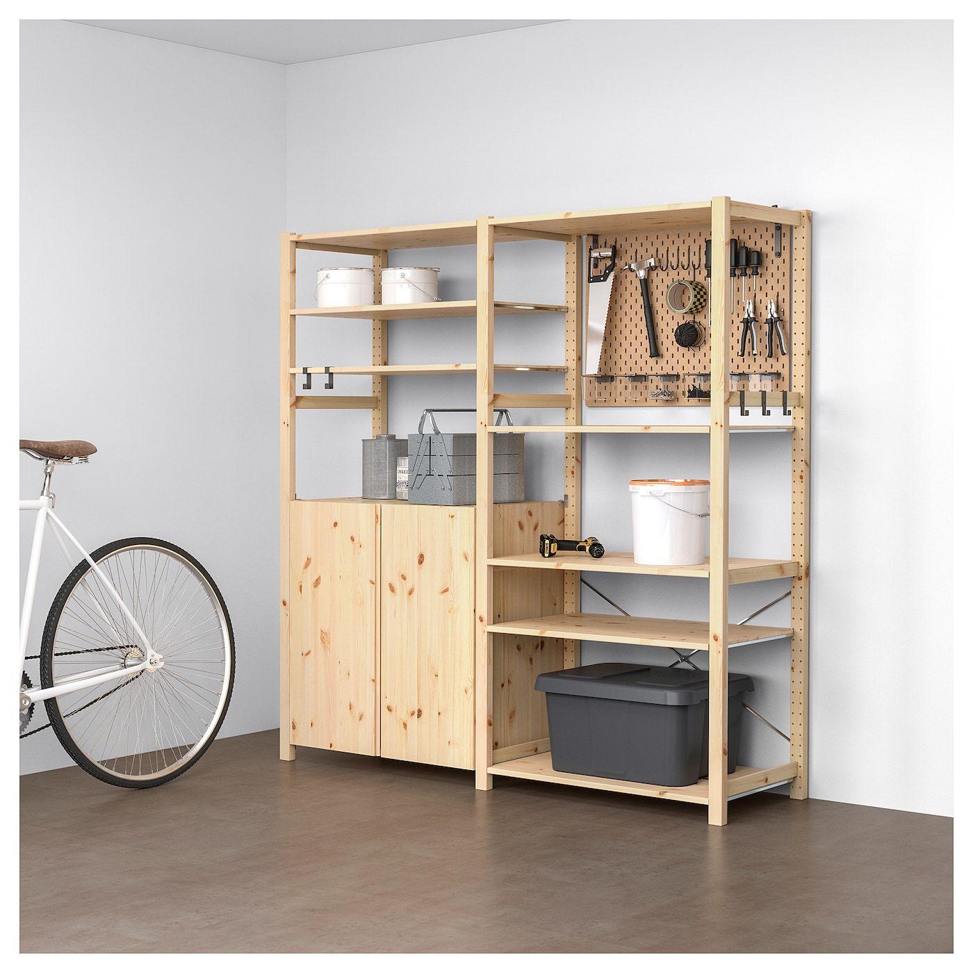 Ivar 2 Elementenplankenkast In 2019 Craftroom Kast