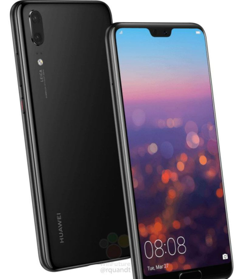 The Huawei P20 price, full specs and press render leaked before
