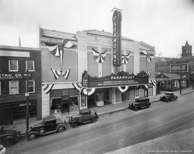 the paramount theatre in lynchburg virginia 1930