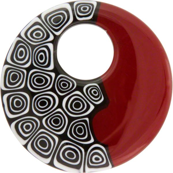 Image detail for -mosaic donut pendant 42mm sku donut 42 th blk rd