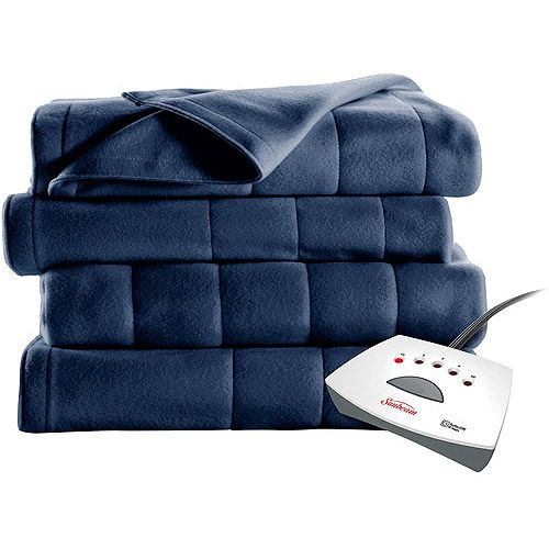 Electric Throw Blanket Walmart Alluring Snuggle Up With A Sunbeam Heated Fleece Electric Blanket #walmart I Inspiration Design