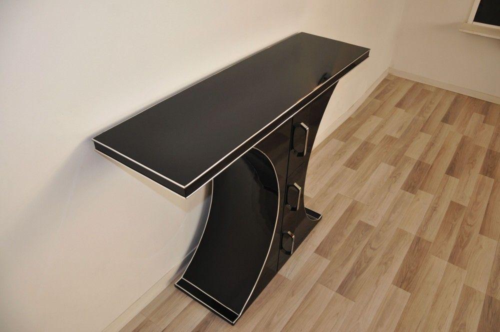 Seltene Art Deco Stil Schubladenkonsole 2 500 00