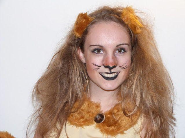 Continuation of lion costume fur collar scarf fur ears teased hair worn  sc 1 st  Pinterest & Continuation of lion costume: fur collar scarf fur ears teased ...