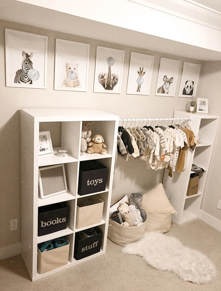 Nice, modern playroom! We love this soft color palette – perfect for