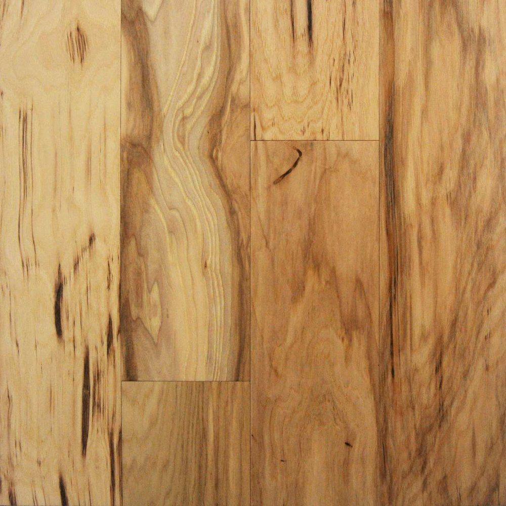 Desert Charms 5 X 3 8 Natural Engineered Tongue Groove Hickory Tongue And Groove Hickory Engineered Flooring