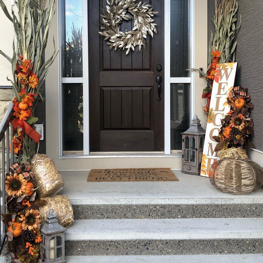 The seasons are turning! Fall is here :) We can decorate anything including your house! #yycdecor #housedecor #homedecor #falldecor