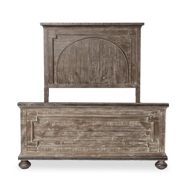 Saratoga Reclaimed Wood King Bed By Black Dog Salvage