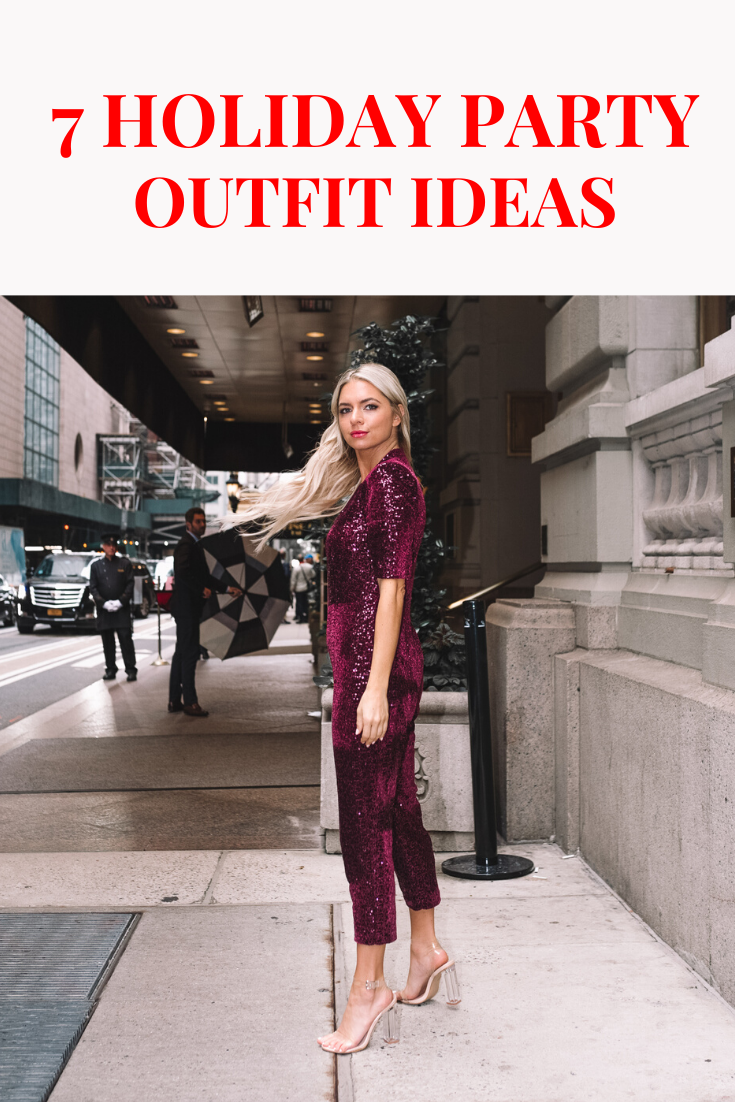 What to Wear to a Holiday Party: 7 Holiday Outfit Ideas