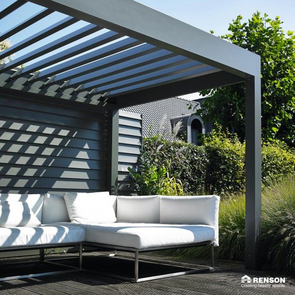 Die Hochwertige Terrassenüberdachung Algarve Von Renson