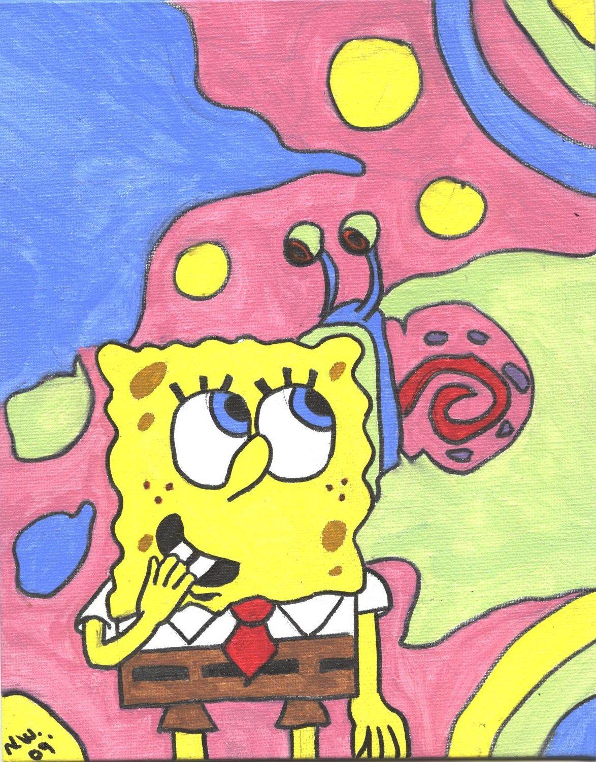 Spongebob and Gary My Art Pinterest Spongebob squarepants