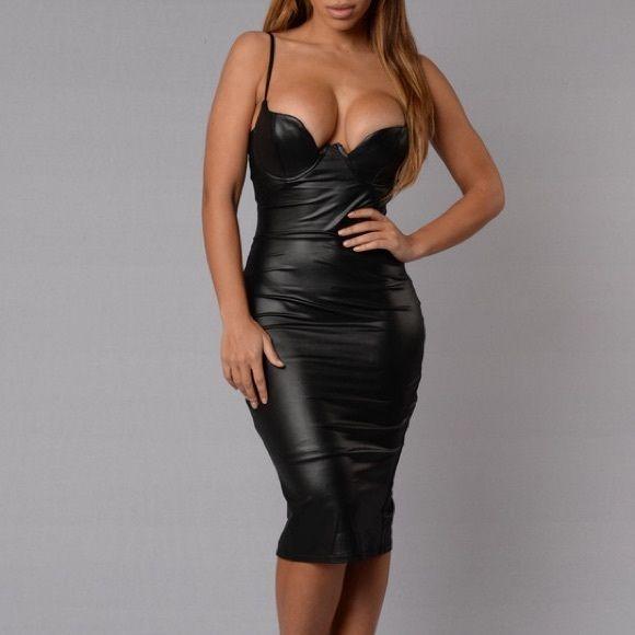 cbde2ad752 Fashion Nova Rita Dress Black BRAND NEW Fashion Nova Dresses