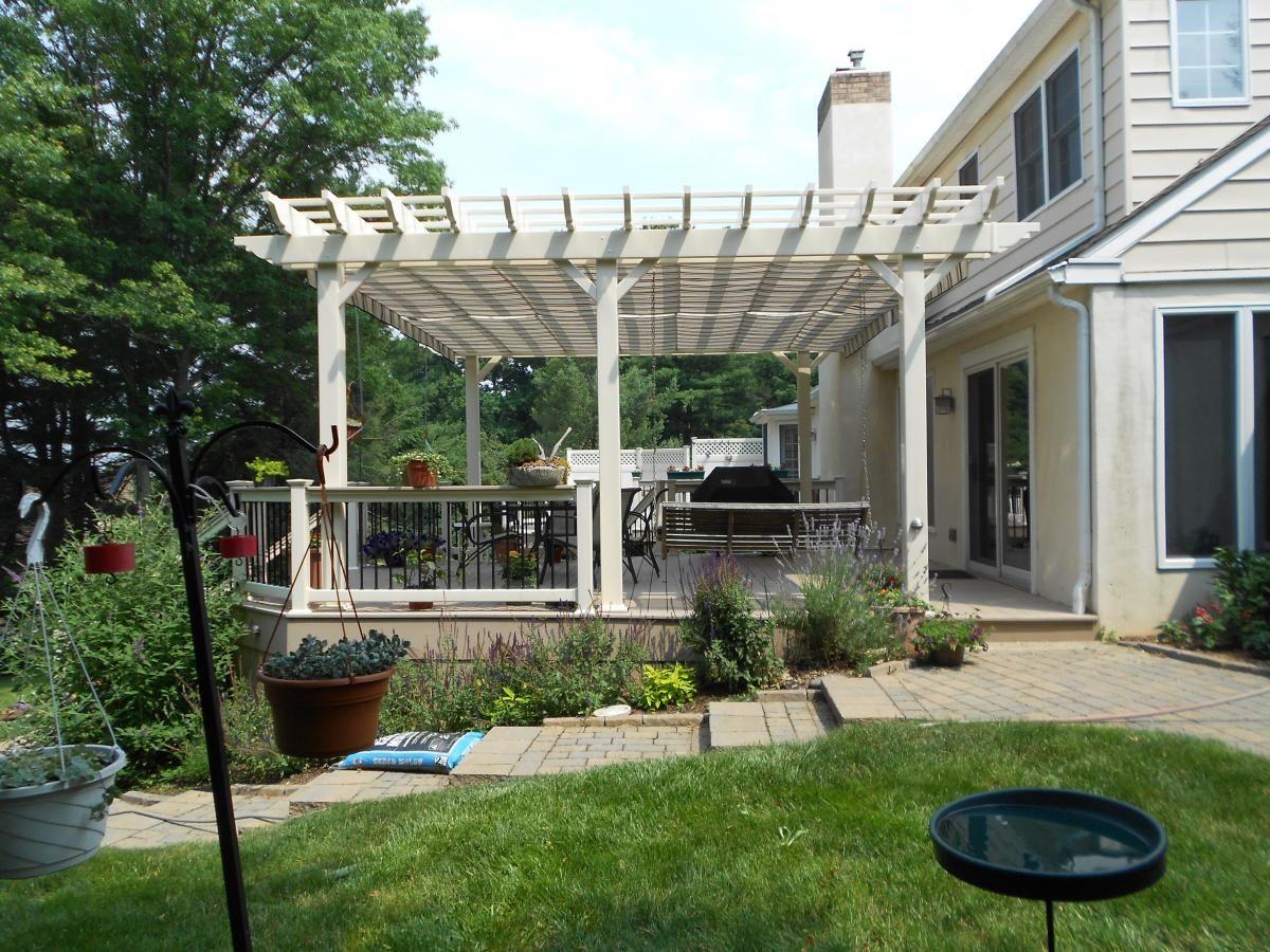 pergolas/canopies | Deck with Pergolas | Lancaster u0026 Chester County Deck Railings - Decks & pergolas/canopies | Deck with Pergolas | Lancaster u0026 Chester ...
