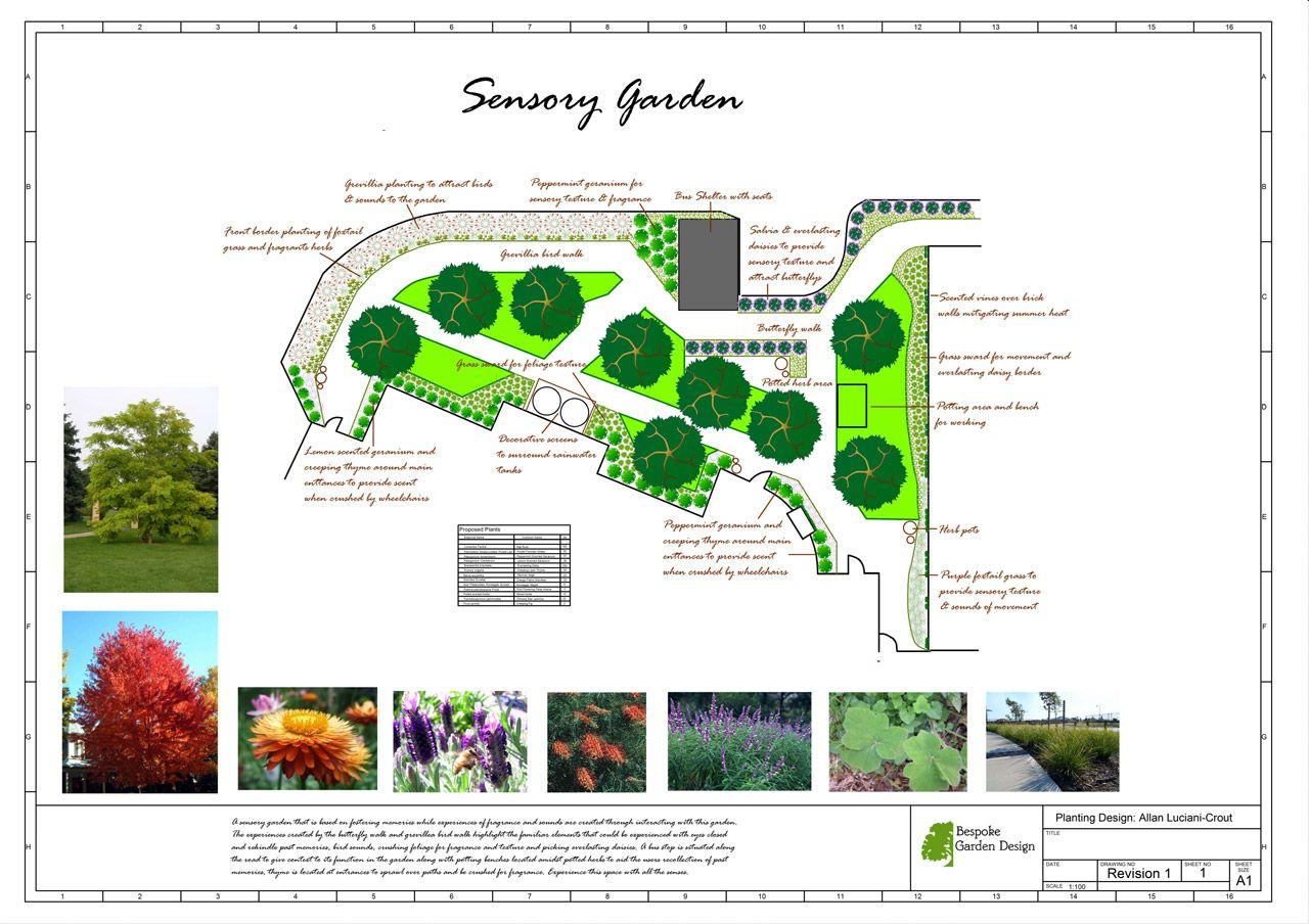 Landworkscad Bespoke Garden Design Sensory Garden 20130419 (