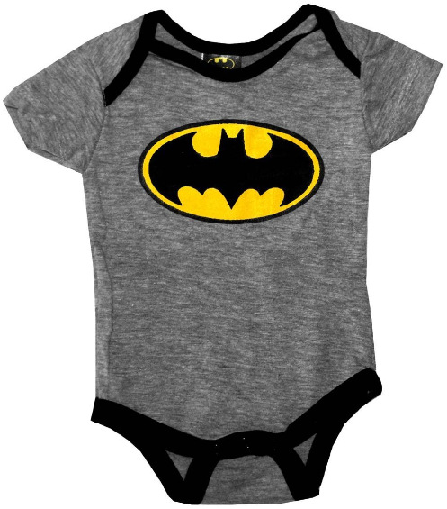Batman Baby Snapsuit With Pants – Two Piece Set – GeekBabyClothes.com